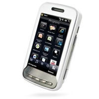 Aluminum Metal Case for T-Mobile HTC Touch Pro2 (Silver)