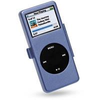 iPod nano Aluminum Metal Case with Neck Strap (Medium slateblue) PDair Premium Hadmade Genuine Leather Protective Case Sleeve Wallet