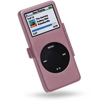 iPod nano Aluminum Metal Case with Neck Strap (Pink) PDair Premium Hadmade Genuine Leather Protective Case Sleeve Wallet