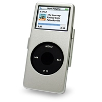 iPod nano Aluminum Metal Case with Neck Strap (Silver) PDair Premium Hadmade Genuine Leather Protective Case Sleeve Wallet