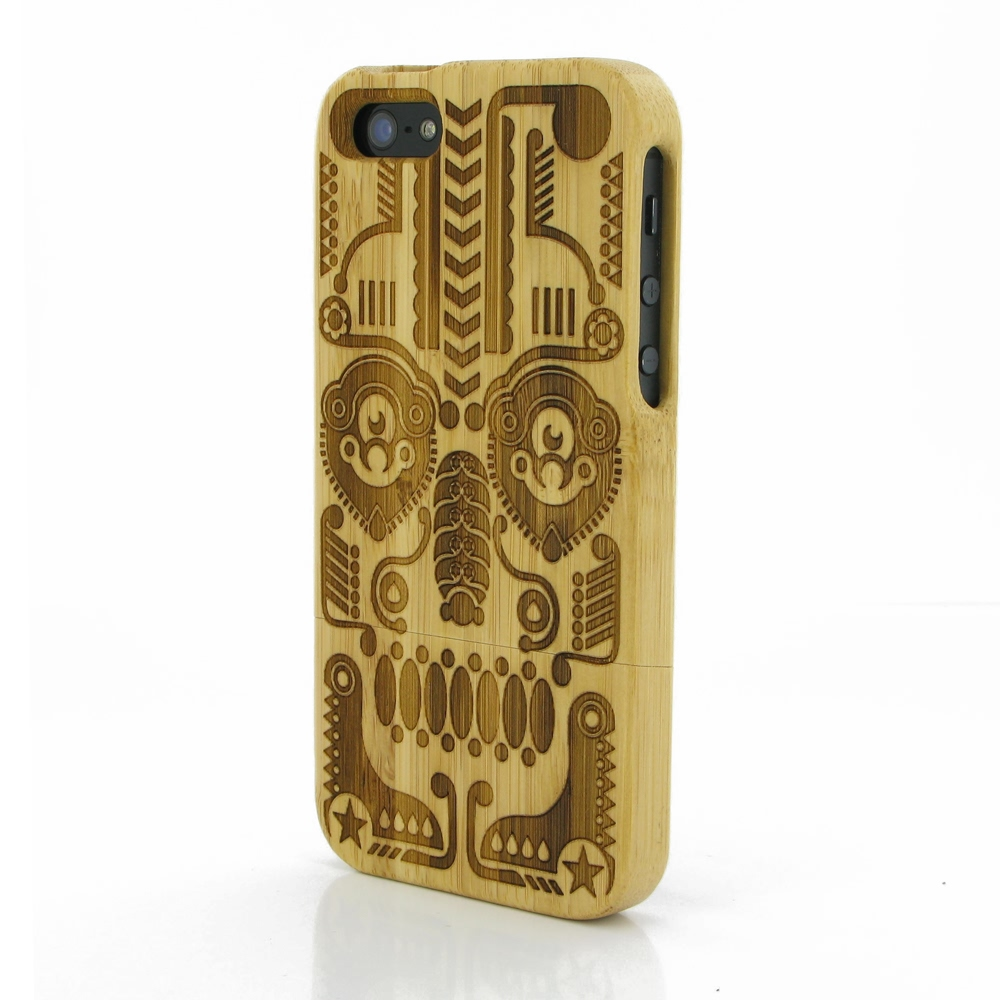 10% OFF + FREE SHIPPING, Buy Best PDair Quality Handmade Protective iPhone 5 | iPhone 5s Bamboo Protective Case (Symmetrical Pattern) online. You also can go to the customizer to create your own stylish leather case if looking for additional colors, patte