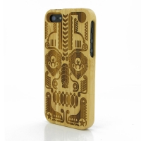 Bamboo Protective Case for Apple iPhone 5 | iPhone 5s (Symmetrical Pattern)