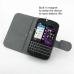 BlackBerry Q10 Leather Flip Cover Case top quality leather case by PDair