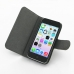 iPhone 5c Leather Flip Cover Case top quality leather case by PDair