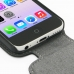 iPhone 5c Leather Flip Top Cover genuine leather case by PDair