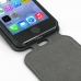 iPhone 5 5s Leather Flip Top Cover handmade leather case by PDair