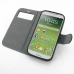 Samsung Galaxy S4 Leather Flip Cover Case top quality leather case by PDair