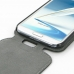 Samsung Galaxy Note 2 Leather Flip Top Cover genuine leather case by PDair