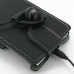 Sony Xperia J Leather Flip Top Cover protective carrying case by PDair