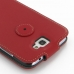 Samsung Galaxy Note 2 Leather Flip Top Cover (Red) protective carrying case by PDair