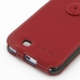Samsung Galaxy Note 2 Leather Flip Top Cover (Red) handmade leather case by PDair