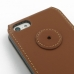iPhone 5c Flip Cover (Brown) protective carrying case by PDair