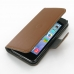 iPhone 5 5s Leather Flip Cover Case (Brown) offers worldwide free shipping by PDair