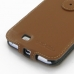 Samsung Galaxy Note 2 Flip Cover (Brown) handmade leather case by PDair
