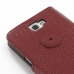 Samsung Galaxy Note 2 Leather Flip Cover Case (Red Croc) protective carrying case by PDair