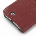 Samsung Galaxy Note 2 Leather Flip Cover Case (Red Croc) handmade leather case by PDair
