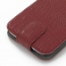 Samsung Galaxy Note 2 Leather Flip Top Cover (Red Croc Pattern) handmade leather case by PDair