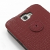 Samsung Galaxy Note 2 Leather Flip Top Cover (Red Croc Pattern) genuine leather case by PDair