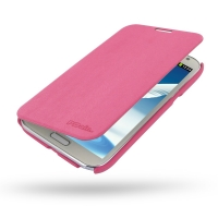 Casual Folio Cover Case for Samsung Galaxy Note 2 | Samsung Galaxy Note2 | GT-N7100 (Petal Pink)