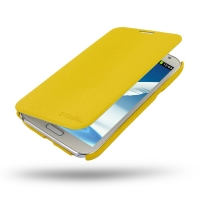 Casual Folio Cover Case for Samsung Galaxy Note 2 | Samsung Galaxy Note2 | GT-N7100 (Yellow)
