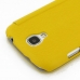 Samsung Galaxy S4 Casual Folio Cover Case (Yellow) genuine leather case by PDair