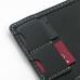 Memory SD / SIM Card Leather Wallet Case genuine leather case by PDair