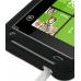 HTC Radar Luxury Silicone Soft Case (Black) handmade leather case by PDair