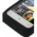 HTC Radar Luxury Silicone Soft Case (Black) genuine leather case by PDair