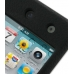 iPod Touch 4th Luxury Silicone Soft Case (Black) top quality leather case by PDair