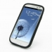 Samsung Galaxy S3 Luxury Silicone Soft Case (Black) offers worldwide free shipping by PDair