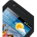 Samsung Galaxy S2 Luxury Silicone Soft Case (Black) genuine leather case by PDair