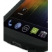 Samsung Galaxy Nexus Luxury Silicone Soft Case (Black) handmade leather case by PDair