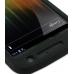 Samsung Galaxy Nexus Luxury Silicone Soft Case (Black) genuine leather case by PDair