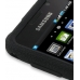 Samsung Vibrant Galaxy S Luxury Silicone Soft Case (Black) genuine leather case by PDair