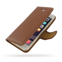 10% OFF + FREE SHIPPING, Buy Best PDair Quality Handmade Protective iPhone 6 | iPhone 6s Genuine Leather Flip Carry Cover (Brown) online. Pouch Sleeve Wallet You also can go to the customizer to create your own stylish leather case if looking for addition