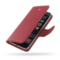 10% OFF + FREE SHIPPING, Buy Best PDair Quality Handmade Protective iPhone 6 | iPhone 6s Genuine Leather Flip Carry Cover (Red) online. Pouch Sleeve Wallet You also can go to the customizer to create your own stylish leather case if looking for additional