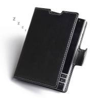 Deluxe Leather Book Case for BlackBerry Passport