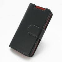 Deluxe Leather Book Case for HTC Desire 310