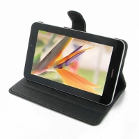 Huawei MediaPad 7 Youth 2 Leather Flip Carry Cover PDair Premium Hadmade Genuine Leather Protective Case Sleeve Wallet