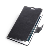Samsung Galaxy Note Edge Leather Flip Carry Cover PDair Premium Hadmade Genuine Leather Protective Case Sleeve Wallet