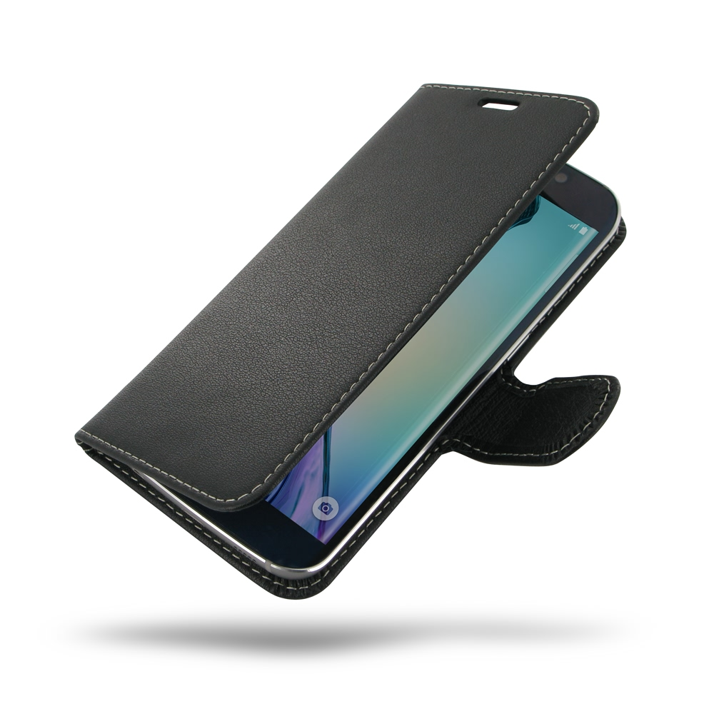 samsung galaxy s6 edge pouch holster wallet sleeve pdair flip casedeluxe leather book case for samsung galaxy s6 edge