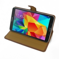 10% OFF + FREE SHIPPING, Buy Best PDair Quality Handmade Protective Samsung Galaxy Tab 4 8.0 Leather Smart Flip Carry Cover (Brown). You also can go to the customizer to create your own stylish leather case if looking for additional colors, patterns and t