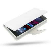 10% OFF + FREE SHIPPING, Buy PDair Top Quality Handmade Protective Sony Xperia Z1 Compact Leather Flip Carry Cover (White) online. Pouch Sleeve Holster Wallet You also can go to the customizer to create your own stylish leather case if looking for additio