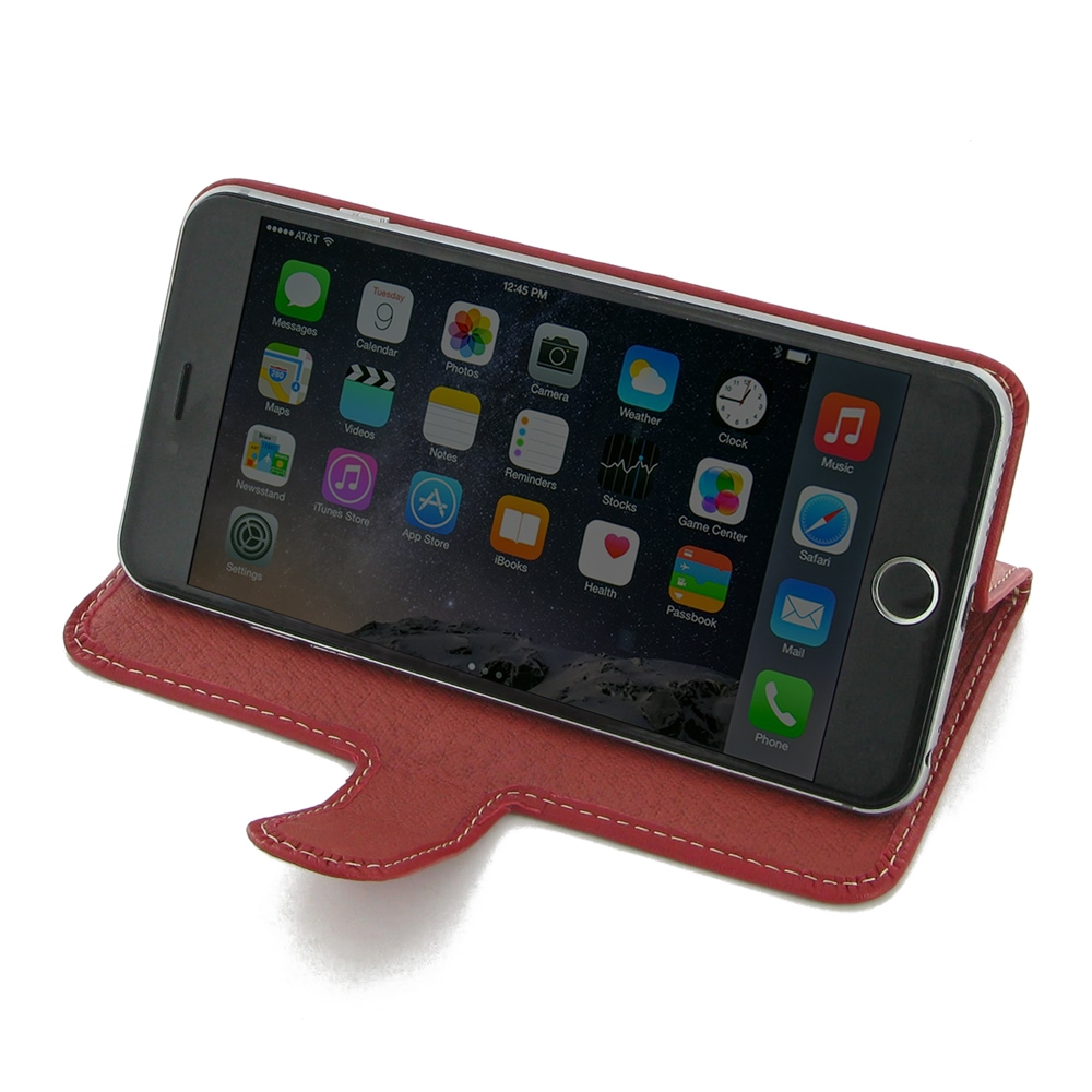 10% OFF + FREE SHIPPING, Buy Best PDair Top Quality Handmade Protective iPhone 6 Plus | iPhone 6s Plus Leather Smart Flip Cover (Red) online. Pouch Sleeve You also can go to the customizer to create your own stylish leather case if looking for additional