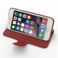 10% OFF + FREE SHIPPING, Buy Best PDair Quality Handmade Protective iPhone 6 | iPhone 6s Genuine Leather Smart Flip Cover (Red) online. Pouch Sleeve Wallet You also can go to the customizer to create your own stylish leather case if looking for additional