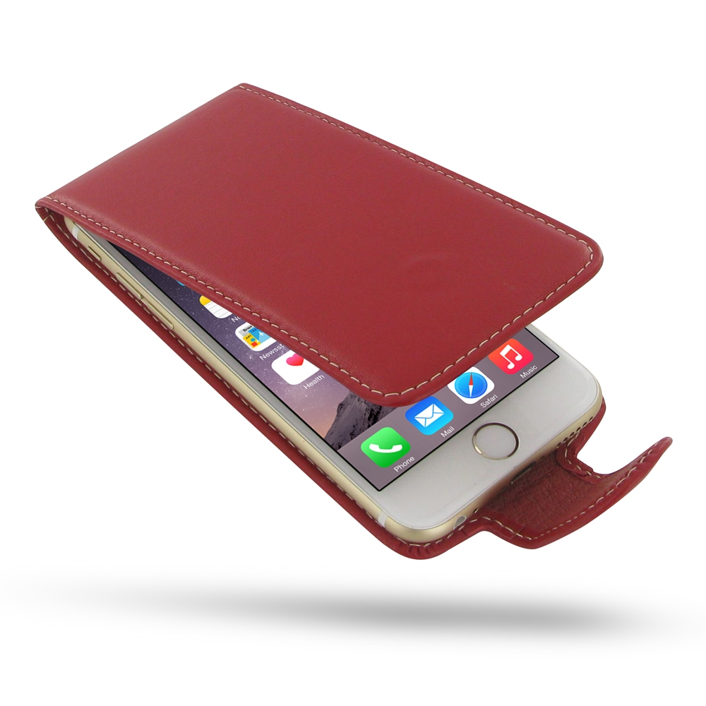 10% OFF + FREE SHIPPING, Buy Best PDair Quality Handmade Protective iPhone 6 | iPhone 6s Genuine Leather Flip Carry Case (Red) online. Pouch Sleeve Wallet You also can go to the customizer to create your own stylish leather case if looking for additional
