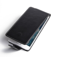 Samsung Galaxy Note Edge Leather Flip Carry Case PDair Premium Hadmade Genuine Leather Protective Case Sleeve Wallet