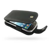 Deluxe Leather Flip Case for Samsung Star Deluxe Duos GT-S5292 (Rex90)