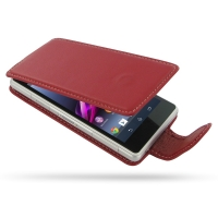 10% OFF + FREE SHIPPING, Buy Best PDair Top Quality Handmade Protective Sony Xperia Z1 Compact Leather Flip Carry Case (Red). Pouch Sleeve Holster Wallet You also can go to the customizer to create your own stylish leather case if looking for additional c