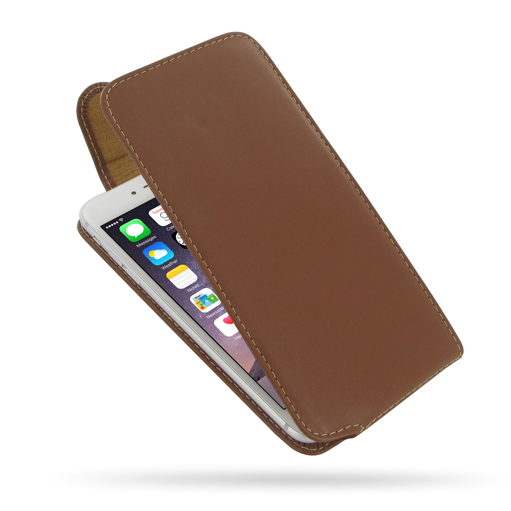 10% OFF + FREE SHIPPING, Buy Best PDair Quality Handmade Protective iPhone 6 Plus | iPhone 6s Plus Genuine Leather Flip Top Carry Case (Brown). Pouch Sleeve You also can go to the customizer to create your own stylish leather case if looking for additiona